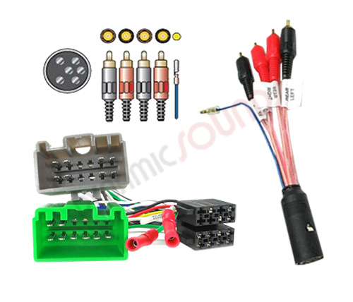 w PC2 71 4 PC9 414 ct20vl02 pc9 414 iso wiring harness adaptor lead for volvo s70 2006 Volvo XC70 at creativeand.co