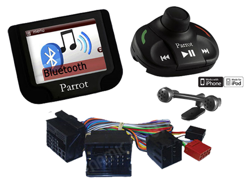 ford fiesta mondeo parrot kit mains libres bluetooth de voiture avec sot ebay. Black Bedroom Furniture Sets. Home Design Ideas