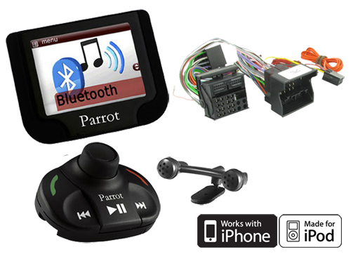 Parrot MKi9200 Bluetooth Handsfree Car Kit with SOT Lead for Vauxhall Combo | eBay