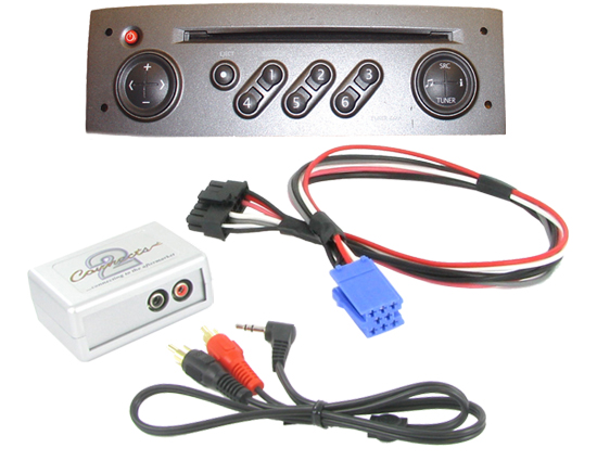 Renault Tuner    Update List 3 5mm Aux Input Adaptor To