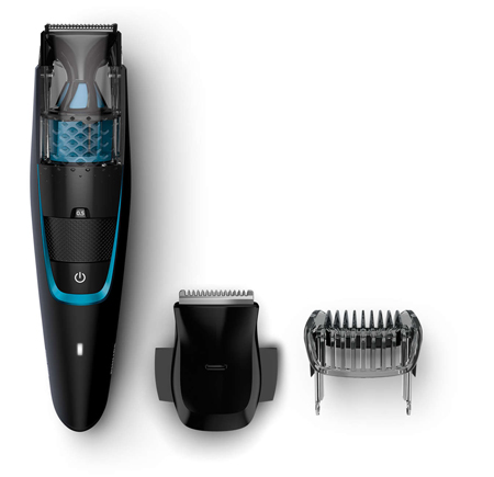 philips beardtrimmer series 7000 vacuum beard trimmer cordless bt7202 13. Black Bedroom Furniture Sets. Home Design Ideas