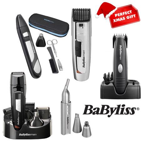 babyliss cordless hair clipper beard trimmer nose ear eyebrow moustache trim. Black Bedroom Furniture Sets. Home Design Ideas