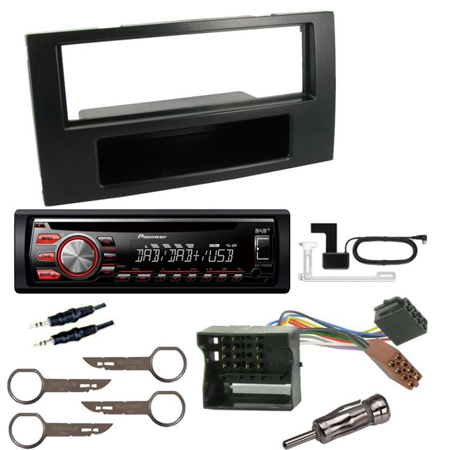 ford transit 2006 fitting kit pioneer deh 4700dab. Black Bedroom Furniture Sets. Home Design Ideas