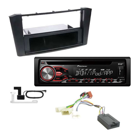 pioneer deh 4900dab digital radio car stereo fitting kit. Black Bedroom Furniture Sets. Home Design Ideas