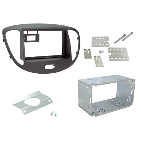 Ford Transit 2006-2013 doble DIN STEREO Fascia Panel Adaptador CT23FD01