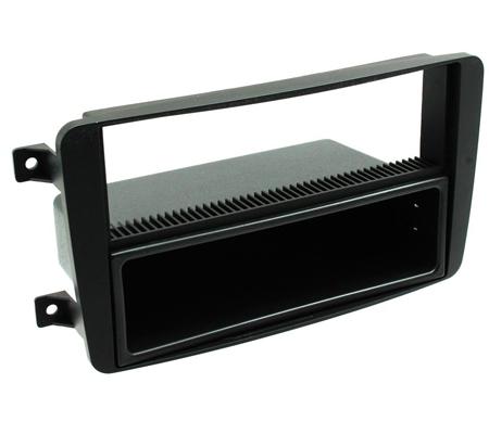 FP-23-01 Car CD Radio Fascia Panel Surround Trim Black For Mercedes CT24MB01