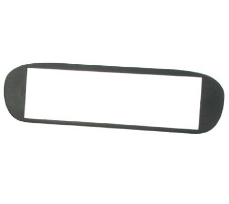 CT24FT02 fiat barchetta 1995 à 2005 noir simple din fascia adaptateur panneau plaque