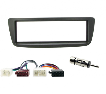 Toyota Aygo 2005 /& gt Cd Radio Facia Fascia envolvente Panel Kit de montaje ct24ty18