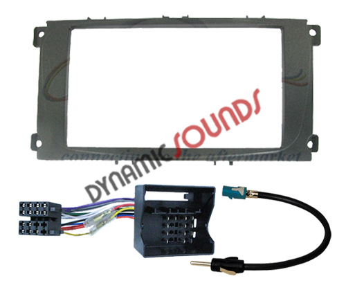 Double Din Stereo Fascia Fitting Kit Wiring For Ford