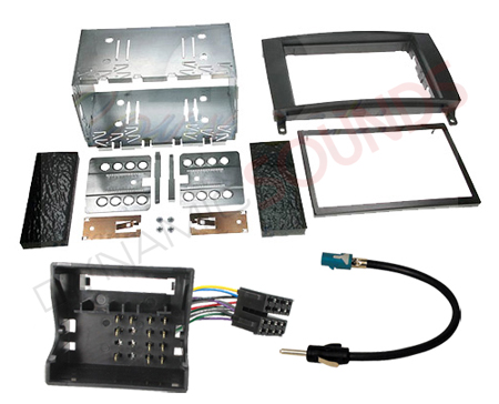 mercedes sprinter vito double din stereo fitting kit ebay. Black Bedroom Furniture Sets. Home Design Ideas