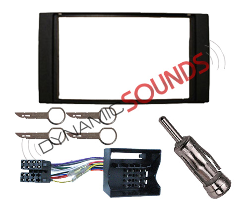 double din car stereo fitting kit for ford transit connect. Black Bedroom Furniture Sets. Home Design Ideas