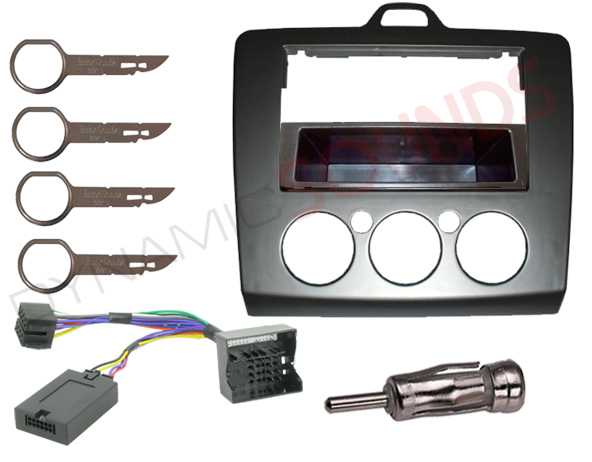 ford focus 2006 car stereo fitting kit fascia stalk. Black Bedroom Furniture Sets. Home Design Ideas