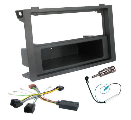 Car radio fitting