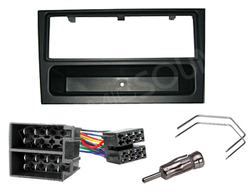 Vauxhall Meriva Wiring Harness : Cd stereo radio fitting kit fascia wiring iso for vauxhall