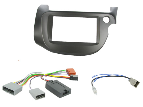 Honda Jazz Car Stereo Double DIN Radio Replacement Fitting Kit CTKHD05