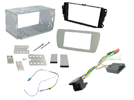 kit to allow the install of a car stereo system connects2 car stereo