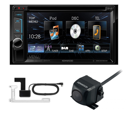 kenwood ddx4015dab 2din dvd car stereo dab bluetooth. Black Bedroom Furniture Sets. Home Design Ideas
