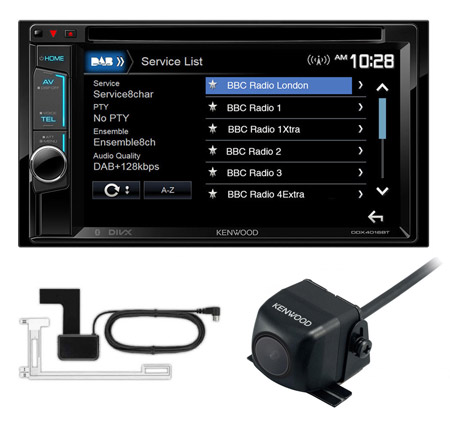 kenwood ddx4016dab 2din dvd car stereo dab bluetooth. Black Bedroom Furniture Sets. Home Design Ideas