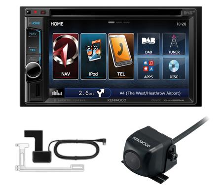 kenwood dnx4150dab 2din car sat nav stereo dab radio. Black Bedroom Furniture Sets. Home Design Ideas