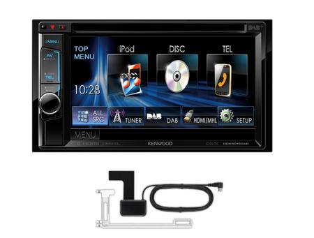 kenwood ddx 5015dab cd mp3 usb bluetooth 2 din car stereo. Black Bedroom Furniture Sets. Home Design Ideas