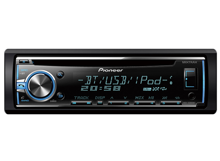 pioneer deh x5900bt cd st r o auto autoradio usb bluetooth aux ipod iphone. Black Bedroom Furniture Sets. Home Design Ideas