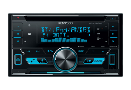 kenwood dpx 5000bt cd mp3 double din bluetooth car stereo usb aux ipod iphone ebay. Black Bedroom Furniture Sets. Home Design Ideas
