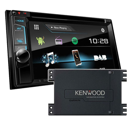 kenwood ddx 4017dab doppel din navigationssystem garmin. Black Bedroom Furniture Sets. Home Design Ideas