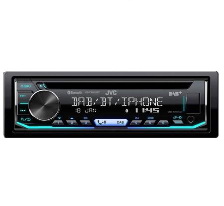 JVC KD-DB902BT coche estéreo CD Sintonizador USB DAB Bluetooth Iphone Android