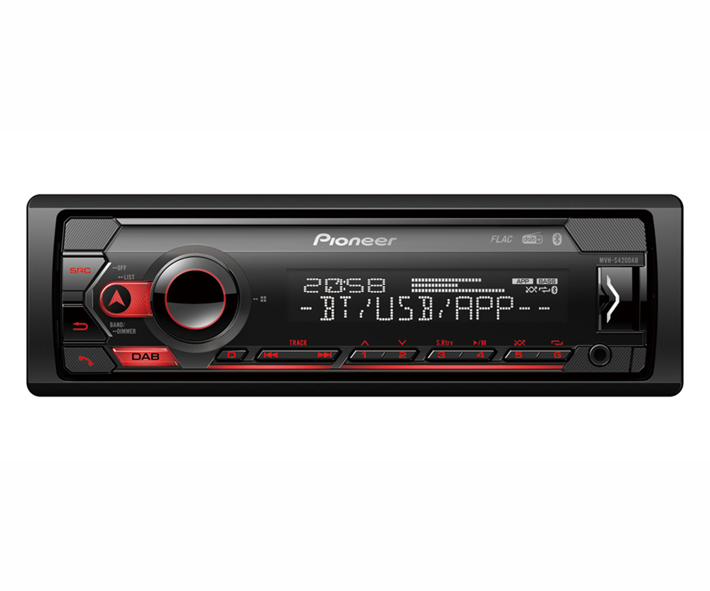 PIONEER MVH-S420DAB Single Din Car Radio