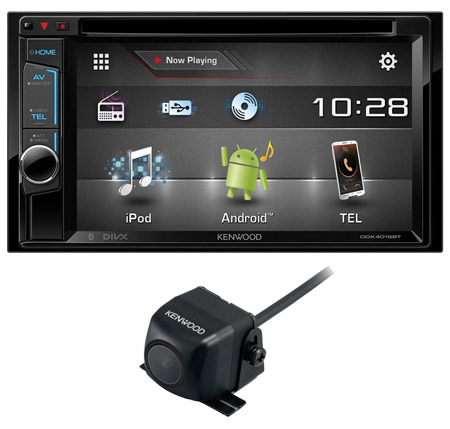 kenwood ddx 4016bt 2 din bluetooth car stereo ipod 6 2. Black Bedroom Furniture Sets. Home Design Ideas