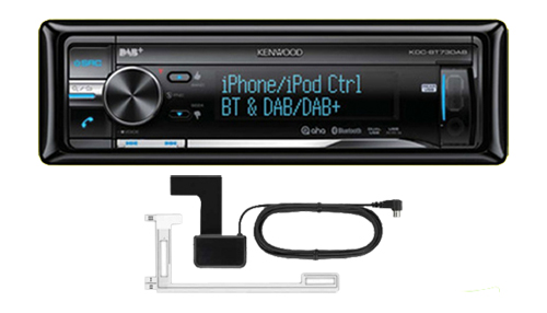 kenwood kdc bt73dab car cd mp3 stereo dab digital radio. Black Bedroom Furniture Sets. Home Design Ideas