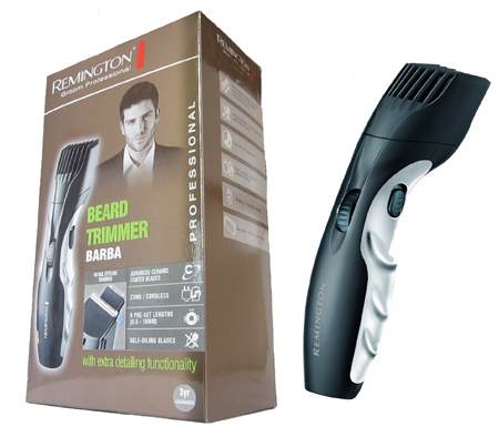 new remington mb320c barba beard trimmer rechargeable cordless with zoom wheel 4008496590087 ebay. Black Bedroom Furniture Sets. Home Design Ideas