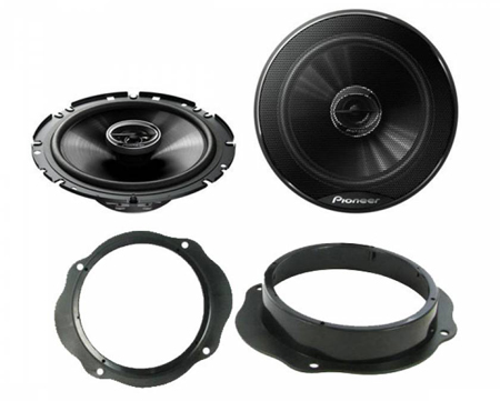ford focus mk 2 2004 2011 6 5 17cm 2 way coaxial. Black Bedroom Furniture Sets. Home Design Ideas