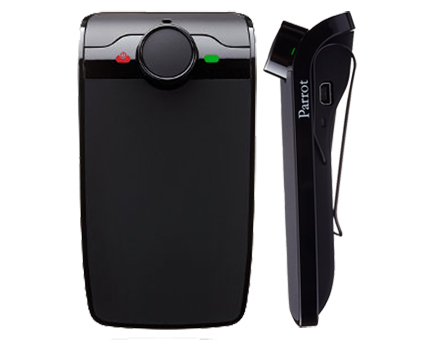 new parrot minikit plus bluetooth handsfree mobile phone carkit replaces slim. Black Bedroom Furniture Sets. Home Design Ideas