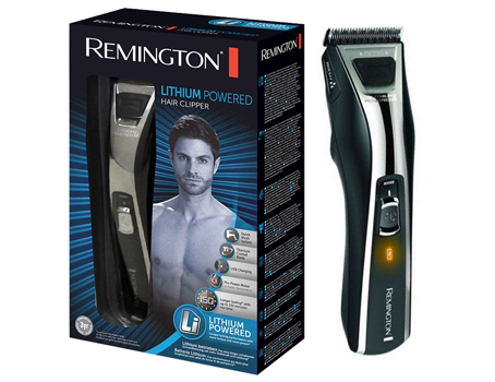 remington hc5780 lithium power hair clipper cordless usb mains beard trimmer new ebay. Black Bedroom Furniture Sets. Home Design Ideas