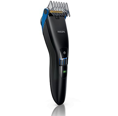 philips qc5370 15 zoom wheel titanium hair cutting clipper trimmer ebay. Black Bedroom Furniture Sets. Home Design Ideas