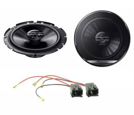 """Peugeot Partner 97-07 MTX  6.5/"""" 480 Watts Component Kit Front Door Car Speakers"""