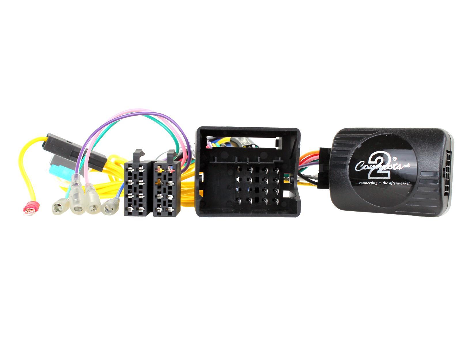 conecte sus controles de volante Tallo VW Scirocco plomo estéreo de coche adaptador