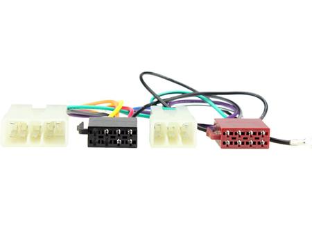 CT20MT01 mitsubishi triton jusqu/'à 1995 oem spécifiques iso harnais adaptateur