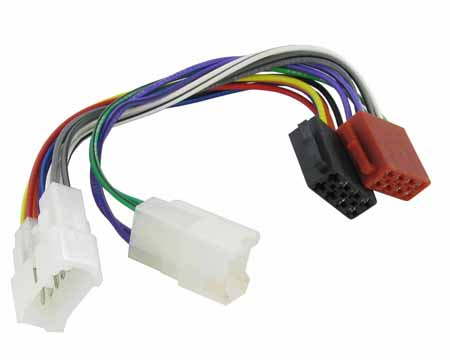 ct20ty01 wiring harness adaptor for daihatsu applause ... 3 wire molex wire harness