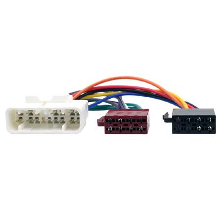 isuzu radio wiring pc2 48 4 car stereo radio wiring harness iso loom for isuzu rodeo isuzu npr radio wiring diagram car stereo radio wiring harness iso