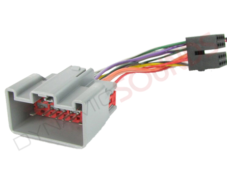 pc2 117 4 wiring harness iso adaptor lead for land rover defender autoleads pc2 117 4 wiring harness iso lead for land rover